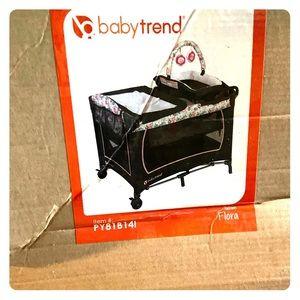 Baby Trend Lil Snooze Deluxe Nursery Playard